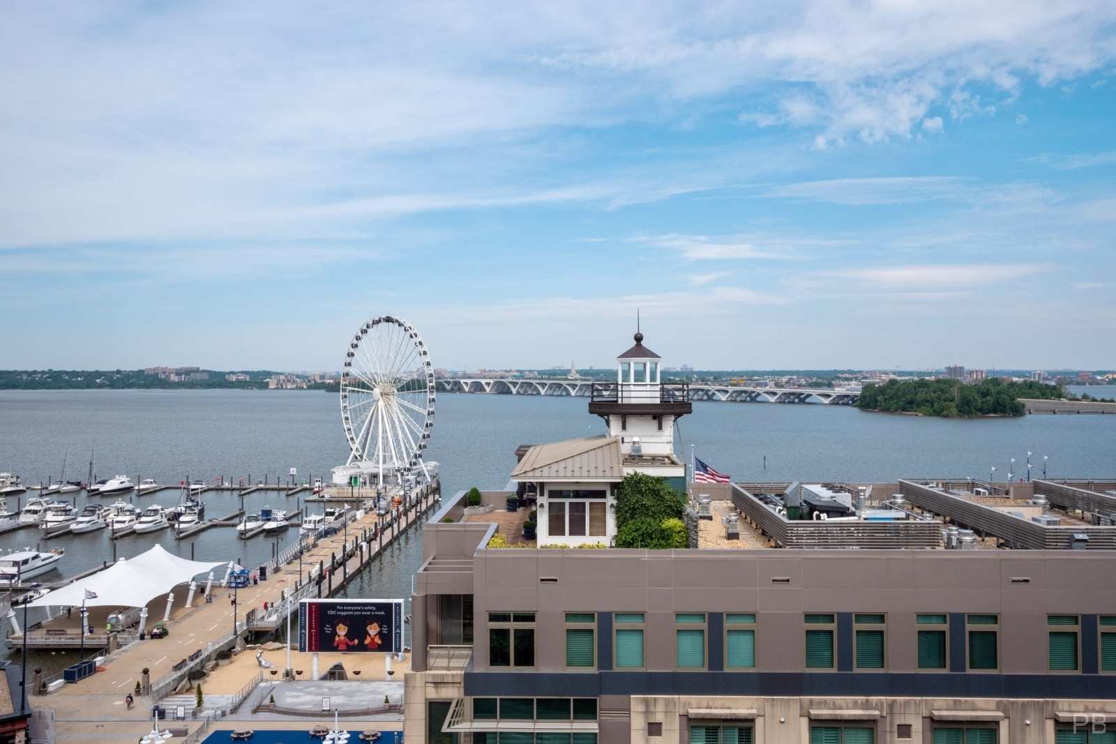 National Harbor and The Capital Wheel