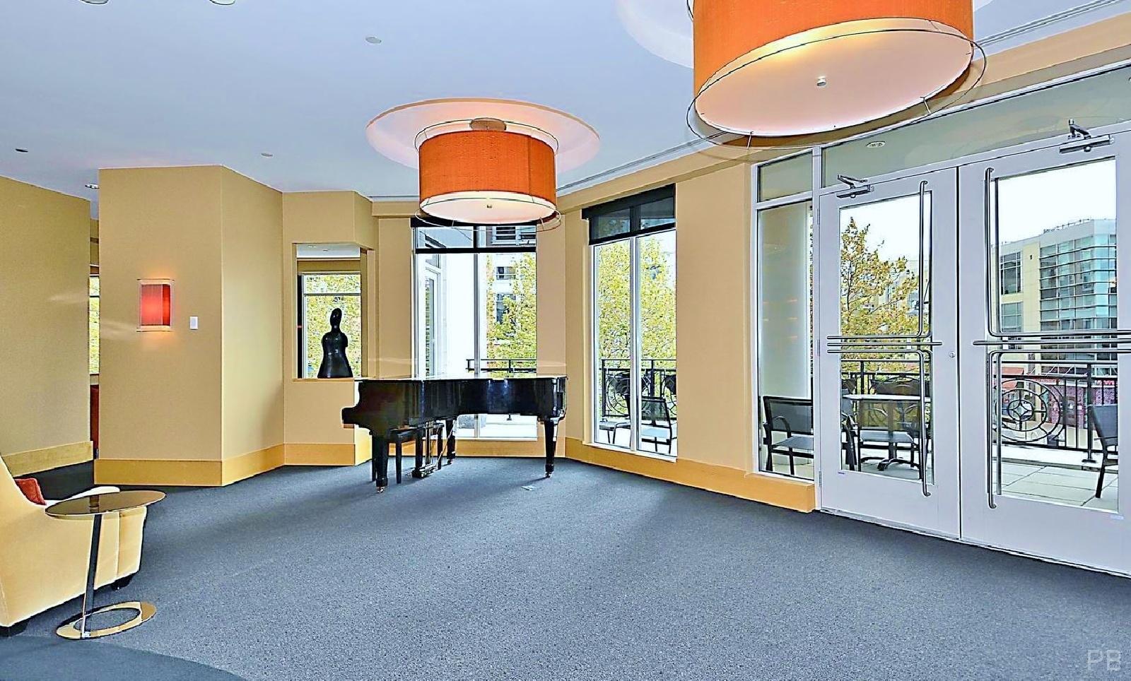 One National Harbor Condo Mezzanine Lounge Piano