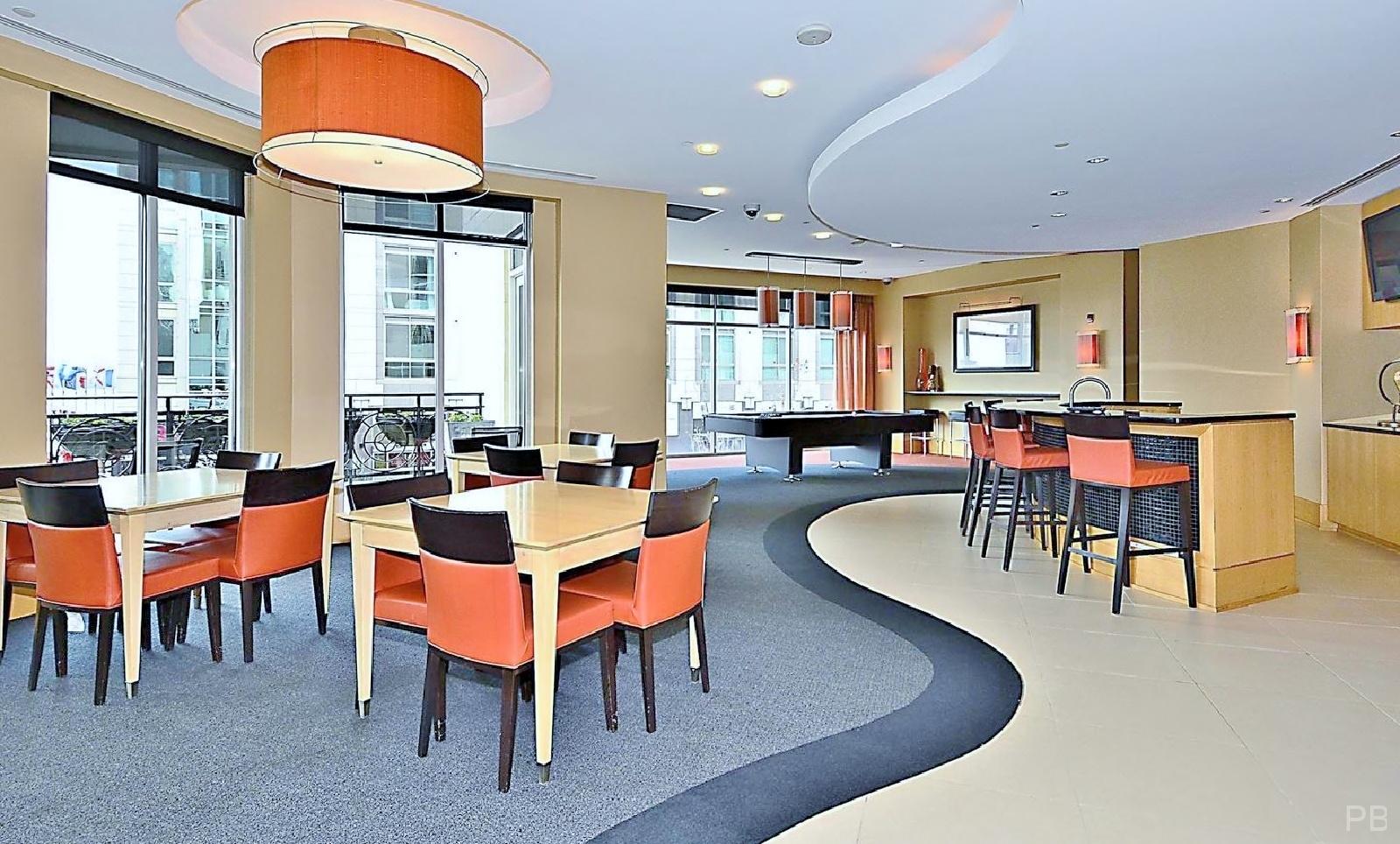 One National Harbor Condo Mezzanine Lounge
