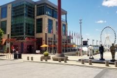 Rosa Mexicano and The Capital Wheel, National Harbor