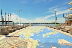 National Harbor Map of the Chesapeake Bay