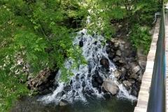 Waterfall by Occoquan Foot Bridge